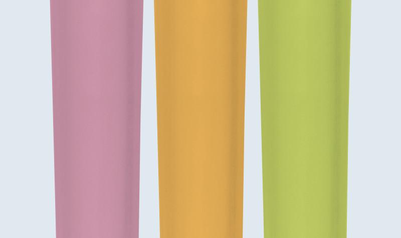 Пластиковые пипетки - цвета