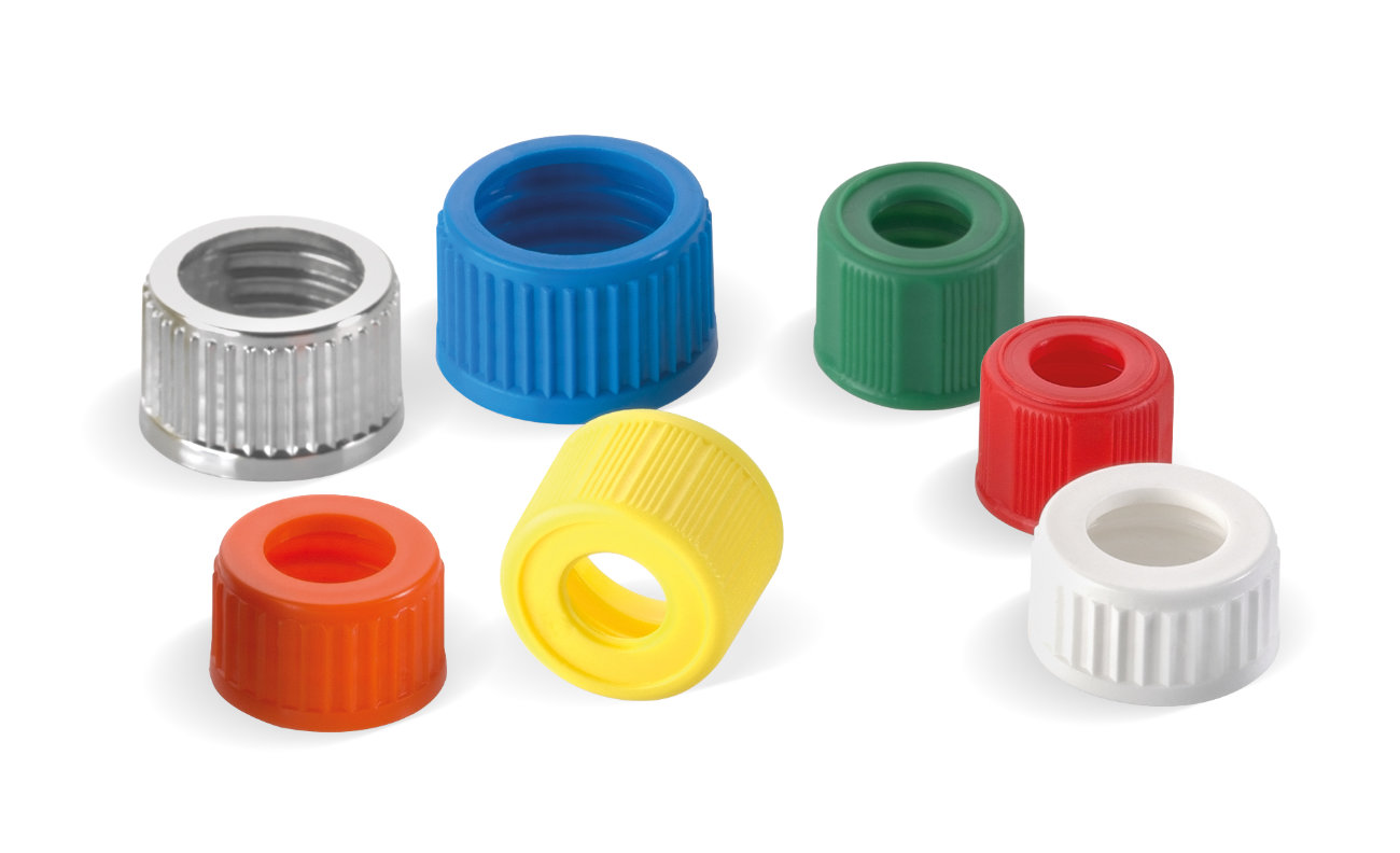 Threaded hole closures pharmaceuticals – shapes and colours