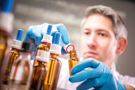 Frascos de cristal para usos farmacéuticos
