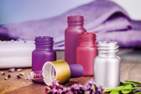 Frascos de cristal para cosmética